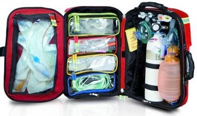отсеки и пеналы сумки экстренной помощи