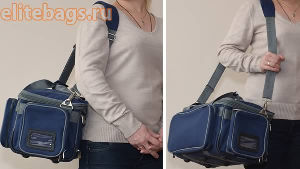 Переноска сумки на плече