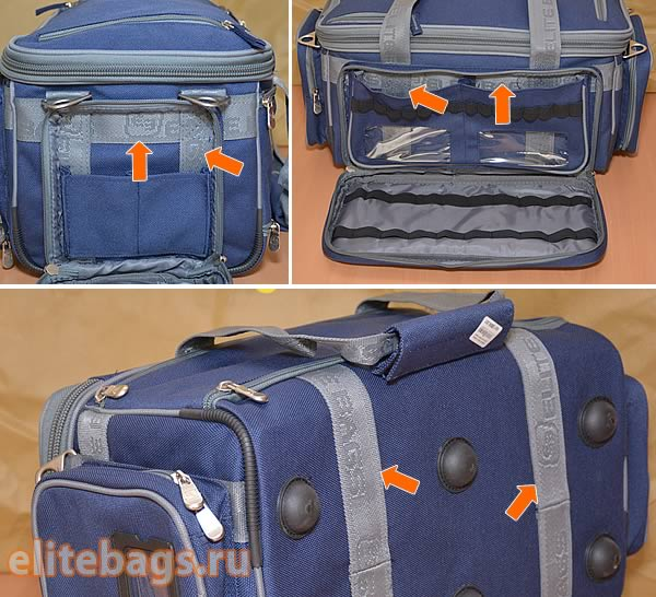 Усиленный каркас медицинской сумки Medic