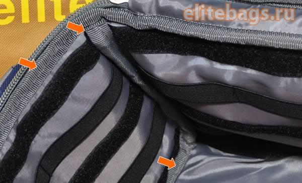 Защита швов сумки